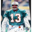 "Dan Marino Autographed Miami Dolphins 8"" x 10"" Throwback Portrait Photograph (Unframed)"