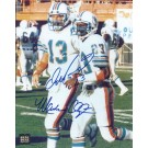 "Dan Marino and Mark Clayton DUAL Autographed Miami Dolphins 8"" x 10"" Photograph (Unframed)"