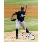 "Dontrelle Willis Autographed Florida Marlins 8"" x 10"" Photograph (Unframed)"