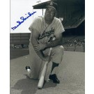 "Duke Snider ""Posing"" Autographed Brooklyn Dodgers 8"" x 10"" Photograph 2x World Series Champion (Unframed)"