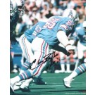 "Elvin Bethea Autographed Houston Oilers 8"" x 10"" Photograph Hall of Famer (Unframed)"