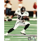 """Fred Taylor Autographed """"Action"""" 8"""" x 10"""" Photograph (Unframed)"""
