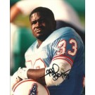 "Gary Brown Autographed Houston Oilers 8"" x 10"" Photograph (Unframed)"