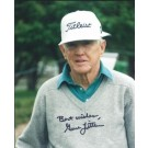"Gene Littler Autographed Golf 8"" x 10"" Photograph (Unframed)"