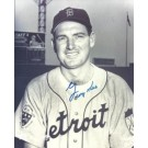 """George Kell Autographed Detroit Tigers 8"""" x 10"""" Photograph Deceased Hall of Famer (Unframed)"""