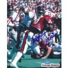 "George Rogers Autographed Nebraska Cornhuskers 8"" x 10"" Photograph 1972 Heisman Trophy Winner (Unframed)"
