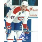 "Gilbert Dionne Autographed Montreal Canadians 8"" x 10"" Photograph (Unframed)"