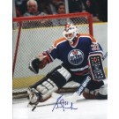 """Grant Fuhr Autographed Edmonton Oilers 8"""" x 10"""" Photograph (Unframed)"""