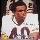Gale Sayers Autographed Chicago Bears11x14 Portrait Photograph Limited Edition of only 40! (Unframed)