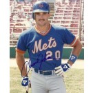 "Howard Johnson Autographed New York Mets 8"" x 10"" Photograph (Unframed)"