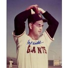 "Hoyt Wilhelm Autographed New York Giants 8"" x 10"" Photograph (Unframed)"