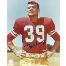 "Hugh McElhenny Autographed San Francisco 49ers 8"" x 10"" Photograph Hall of Famer (Unframed)"
