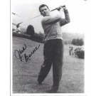 "Jack Burke Autographed Golf ""Swinging"" 8"" x 10"" Photograph (Unframed)"