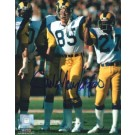 """Jack Youngblood Autographed Los Angeles Rams 8"""" x 10"""" Photograph Hall of Famer (Unframed)"""