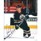 "Jason Arnott Autographed Oilers 8"" x 10"" Photograph (Unframed)"