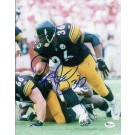 "Jerome Bettis Autographed Pittsburgh Steelers 8"" x 10"" Photograph (Unframed)"