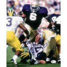 "Jerome Bettis Autographed Notre Dame Fighting Irish 8"" x 10"" Photograph (Unframed)"