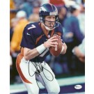 """John Elway """"Action"""" Autographed Denver Broncos 8"""" x 10"""" Action Photograph Super Bowl XXXII (Unframed)"""