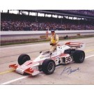 "Jerry Sneva Autographed Racing 8"" x 10"" Photograph (Unframed)"