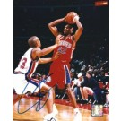 "Jerry Stackhouse Autographed Philadelphia 76ers 8"" x 10"" Photograph (Unframed)"