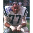 "Jim Parker Autographed Baltimore Colts 8"" x 10"" Photograph Hall of Famer (Unframed)"