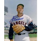 "Jim Piersall Autographed California Angels 8"" x 10"" Photograph (Unframed)"