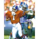 "John Dutton Autographed Dallas Cowboys 8"" x 10"" Photograph Sacking John Elway (Unframed)"