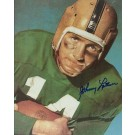 "Johnny Lattner ""With Ball"" Autographed Notre Dame Irish 8"" x 10"" Photograph 1953 Heisman Trophy Winner (Unframed)"