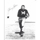 "Johnny Lattner ""Running"" Autographed Notre Dame Irish 8"" x 10"" Photograph 1953 Heisman Trophy Winner (Unframed)"