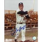"Johnny Logan Autographed Milwaukee Braves 8"" x 10"" Photograph (Unframed)"