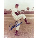 "Johnny Podres Autographed Brooklyn Dodgers 8"" x 10"" Photograph Deceased (Unframed)"