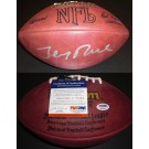Jerry Rice Autographed Wilson NFL Game Model Football San Francisco 49ers