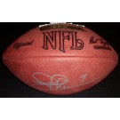Joe Theismann Autographed NFL Game Model Football Washington Redskins