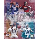 "Johnny Unitas Autographed Baltimore Colts 8"" x 10"" Photograph (with Dan Marino, Joe Montana, and John Elway) (Unframed)"