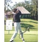 """Julie Inkster Autographed Golf 8"""" x 10"""" Photograph (Unframed)"""