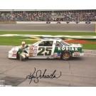 """Ken Schrader Autographed Racing 8"""" x 10"""" Photograph (Unframed)"""