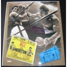 """Ken Norton Autographed """"Fight with Muhammad Ali"""" 11"""" x 14"""" Photograph (Unframed)"""