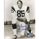 """Lamar Lundy Autographed Los Angeles Rams 8"""" x 10"""" Photograph Hall of Famer (Unframed)"""