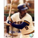 "Larry Hisle Autographed Milwaukee Brewers 8"" x 10"" Photograph (Unframed)"