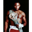"Lennox Lewis Autographed Boxing 8"" x 10"" Photograph (Unframed)"