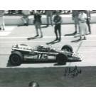 "Lloyd Ruby Autographed Racing 8"" x 10"" Photograph (Unframed)"