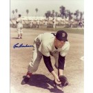 """Lou Boudreau Autographed Boston Red Sox 8"""" x 10"""" Photograph (Deceased) Hall of Famer (Unframed)"""