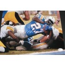 """Ladainian Tomlinson Autographed San Diego Chargers 8"""" x 10"""" Action Photograph (Unframed)"""