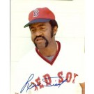 "Luis Tiant Autographed Boston Red Sox 8"" x 10"" Photograph (Unframed)"