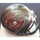 Mike Alstott Autographed Tampa Bay Buccaneers Mini Helmet
