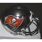 Mike Alstott Autographed Tampa Bay Bucs Chrome Mini Helmet (Unframed)