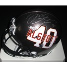 Mike Alstott Autographed Tampa Bay Bucs PLAYER Mini Helmet (Unframed)