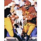 """Marcus Allen """"Holding Ball"""" Autographed USC Trojans 8"""" x 10"""" Photograph 1981 Heisman Trophy Winner (Unframed)"""