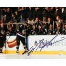 """Mark Messier """"Black Jersey"""" Autographed Vancouver Canucks 8"""" x 10"""" Photograph (Unframed)"""