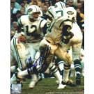 "Matt Snell Autographed New York Jets 8"" x 10"" Photograph Hall of Famer (Unframed)"